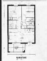 Plan of 2-Bed Apartment