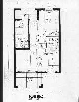 Plan of 1-Bed Apartment