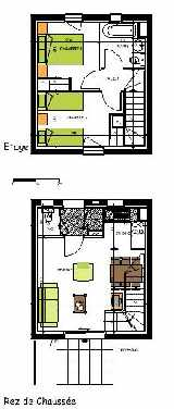 2-bed lot plan example