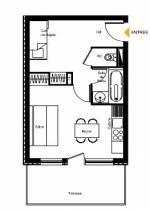 Studio + cabine example