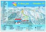Ski domain map