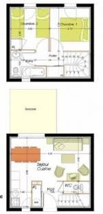 2-bed duplex a